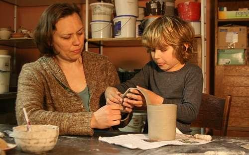 Rodinné víkendy s keramikou v penzionu