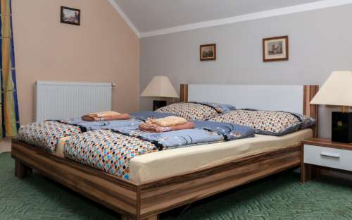 Apartmán č. 2 - manželská postel