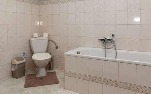 Apartment Nr. 2 - Badezimmer mit WC