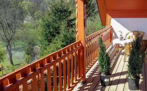 Apartmán č. 2 - balkon