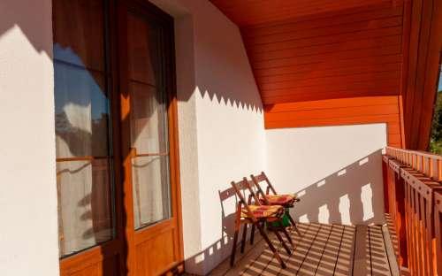 Pokoj č. 3 - balkon