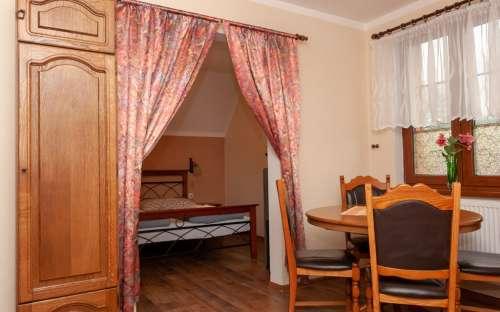 Apartmán č. 4 - pokoj