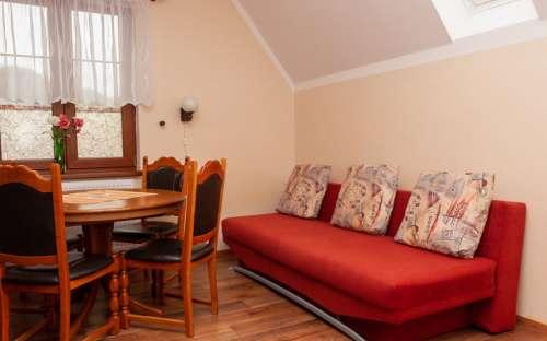 Apartmán č. 4 - pohovka