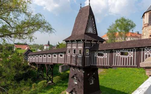 Nové Město nad Metují - most Jurkovic