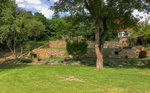 Penzion Na Hradčanech - Zahrada penzionu
