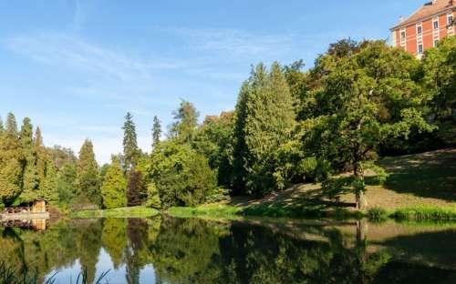 Opočno - Schlosspark
