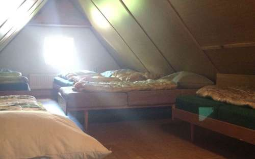 Possibility to sleep in the attic of the pension at a discounted price