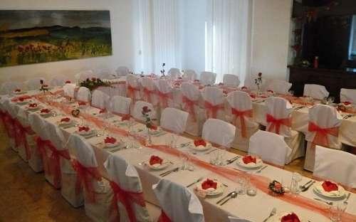 Svatba - bezbariérový sál