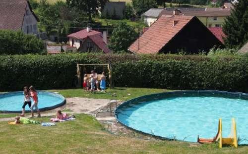 Penzion s bazény na Vysočině