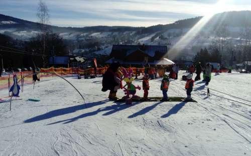 Výuka lyžování pro děti, začátečníky i pokročilé