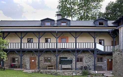 Pension Tvrz - Stritez pod Kremesnikem, accommodation Vysocina