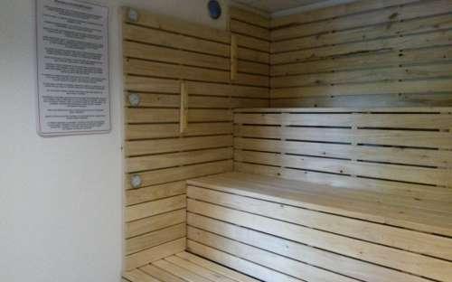 Finská sauna v penzionu