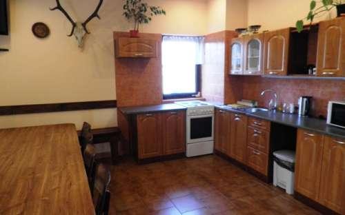 Apartmán pro 8 osob - kuchyně