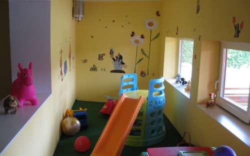 Dětský koutek Penzion U Hroznu