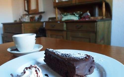 Domácí čoko dort