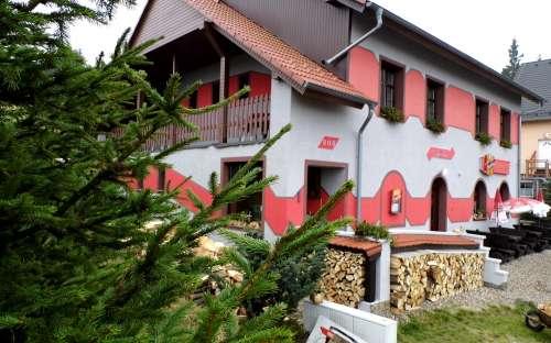 Penzion a Restaurace U Janičky, Háj v Krušných horách