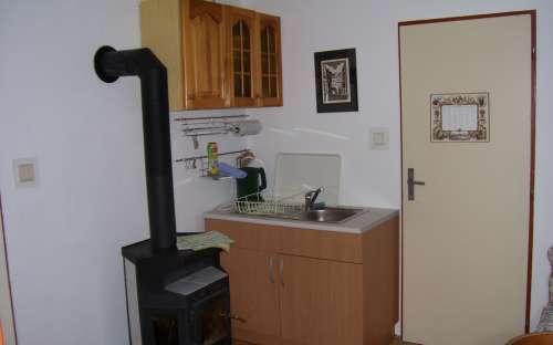 Apartmán č.2 v 1.patře - kuchyňský kout
