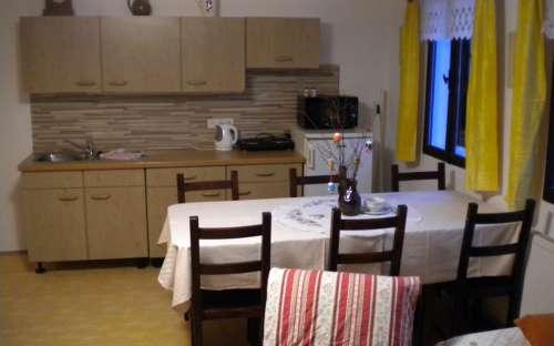 Kuchyň rodinný apartmán