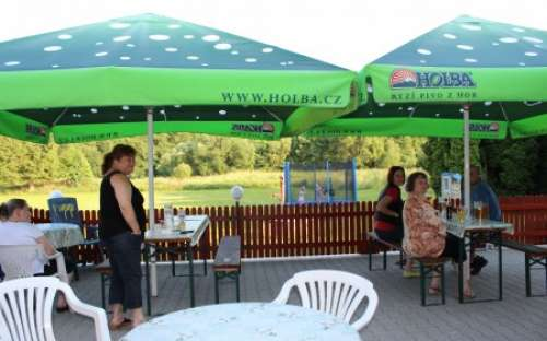 Restaurant med terrasse, U Korytárů