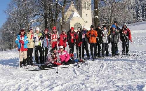Zimní tábor Strážné v Krkonoších, lyžařský výcvik ZŠ