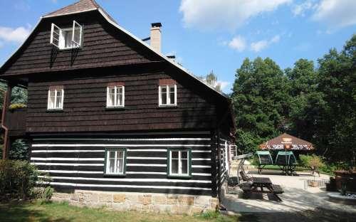 Venkovský dům U Leknínu, ubytování Doksy Máchovo jezero, Liberecko