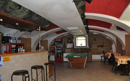 ゲストハウスのレストラン