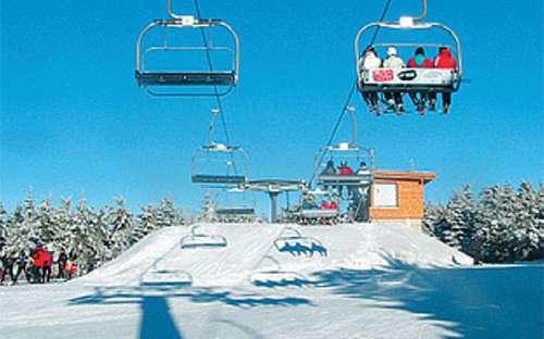 Skigebiet Říčky