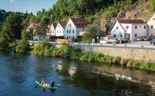 Penzion V Suchu, jižní Čechy, Šumava