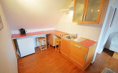 Penzion Žuhansta - Zelený pokoj, kuchyně