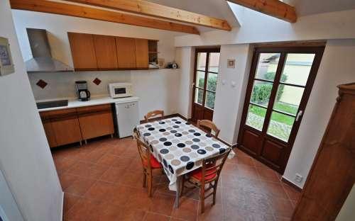 Penzion Žuhansta - Apartmá duplex, kuchyňka
