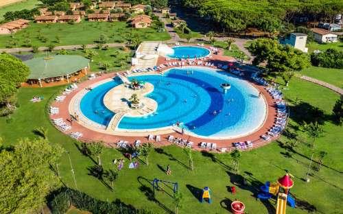 Camping California - bazén