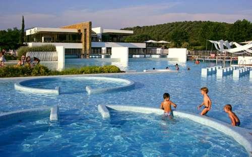 Kemp Rocchette - dětský bazén