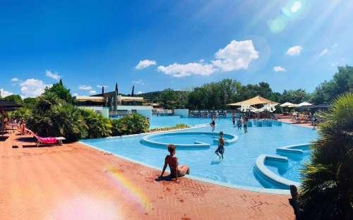 Kemp Rocchette - bazén