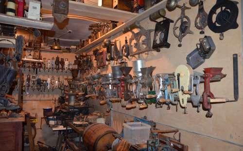 Muzeum - Historické zemědělské a technické stroje