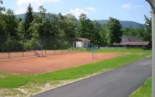Obszar Paskov, Malá Morávka - tereny sportowe