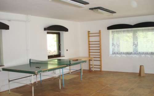 Areál Paskov , Malá Morávka - stolní tenis