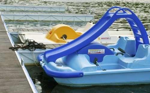 Kemp Resort Beach Slapy - půjčovna člunů