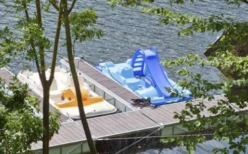 Kemp Resort Beach Slapy - Přehrada Slapy