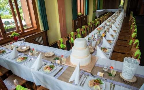 Bruiloften op Kozakov
