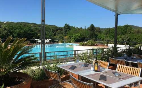 Camping Rocchette - terrasse