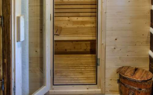 Finnish sauna on the cottage