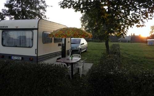 Camping Rozkoš - caravanes
