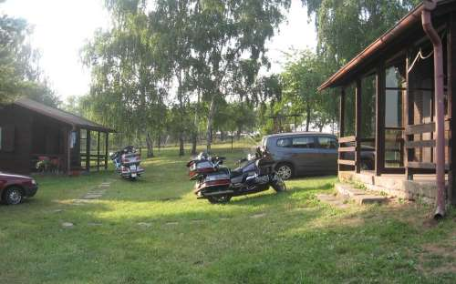 Camping Rozkoš - chalets équipés