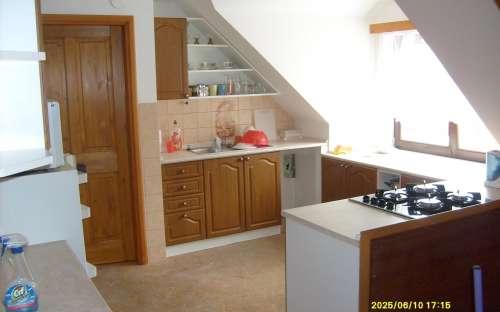kuchyně v apartmánech