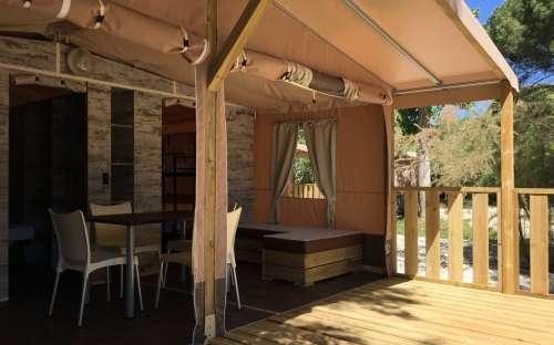 Camping Rocchette - Safari-Zelte