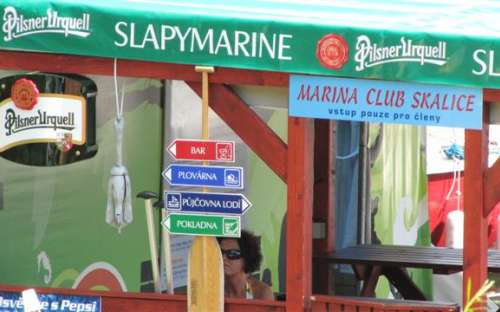 Camping Slapy - Skalice
