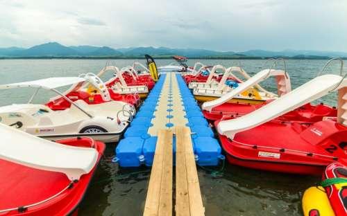 Camping Liptovska Mara - Tapa o barco