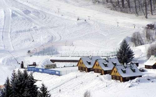 Sportovní areál Bret - Krkonoše, Prkenný důl
