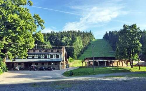 Horská chata Kazmarka u lyžařského areálu - Moravskoslezsko