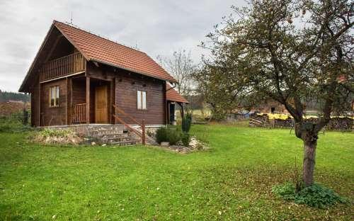 Luxusní chata U Ševců v jižních Čechách
